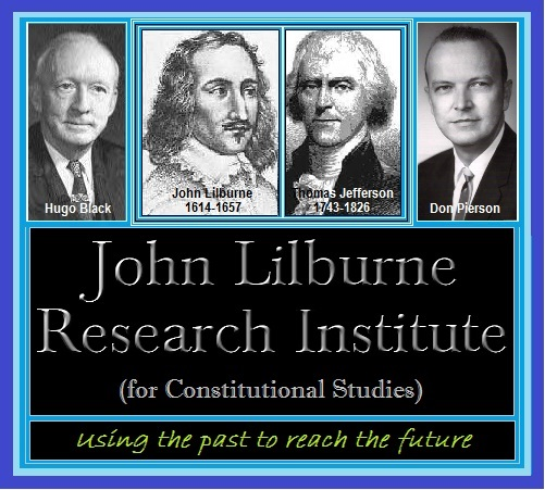 <small><br>&#169;&nbsp;2015&nbsp;by&nbsp;John&nbsp;Lilburne&nbsp;Research&nbsp;Institute&nbsp;<i>(for&nbsp;Constitutional&nbsp;Studies)</i></small>